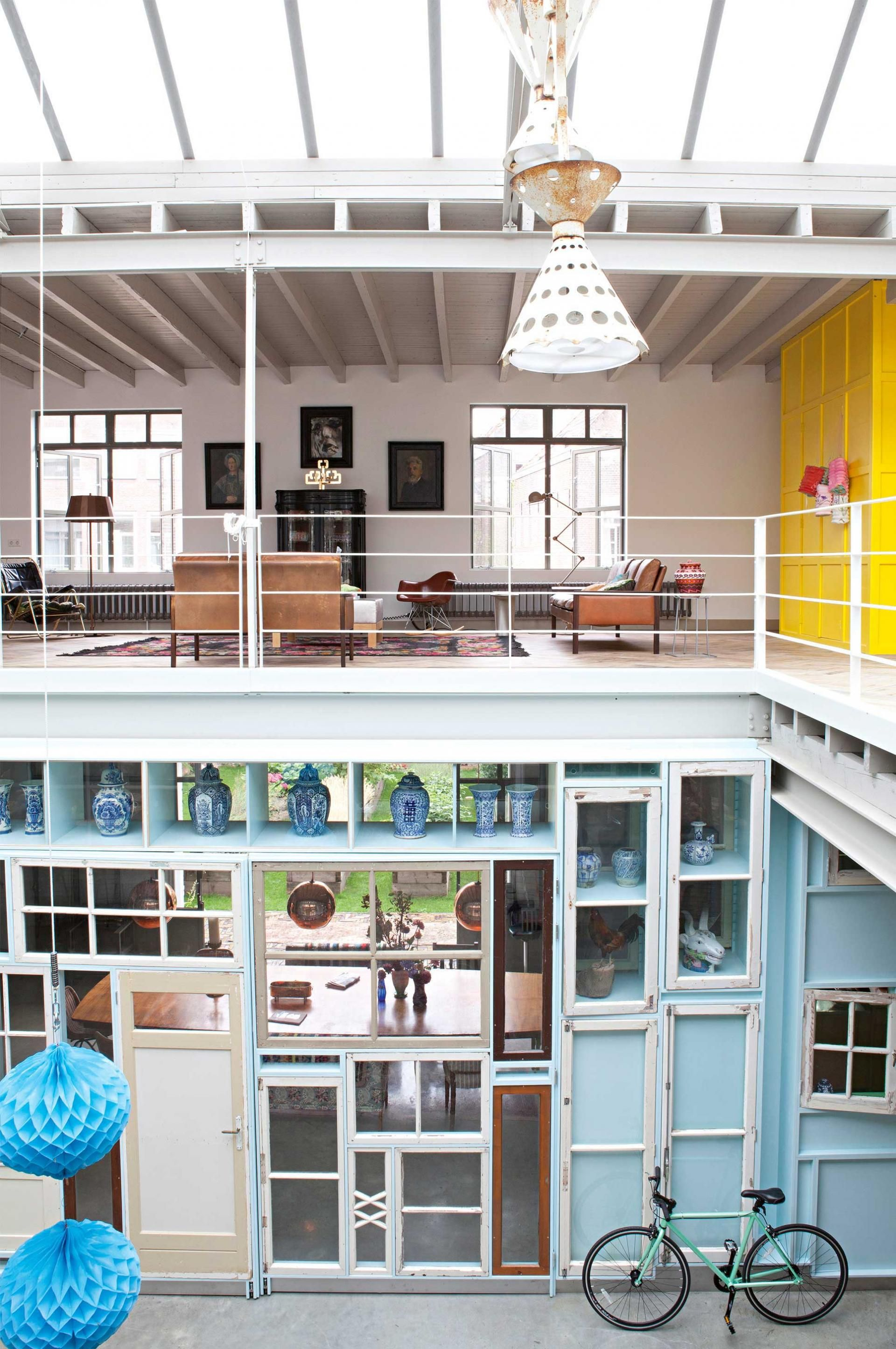 Tour This Eclectic Character Filled Loft In Amsterdam