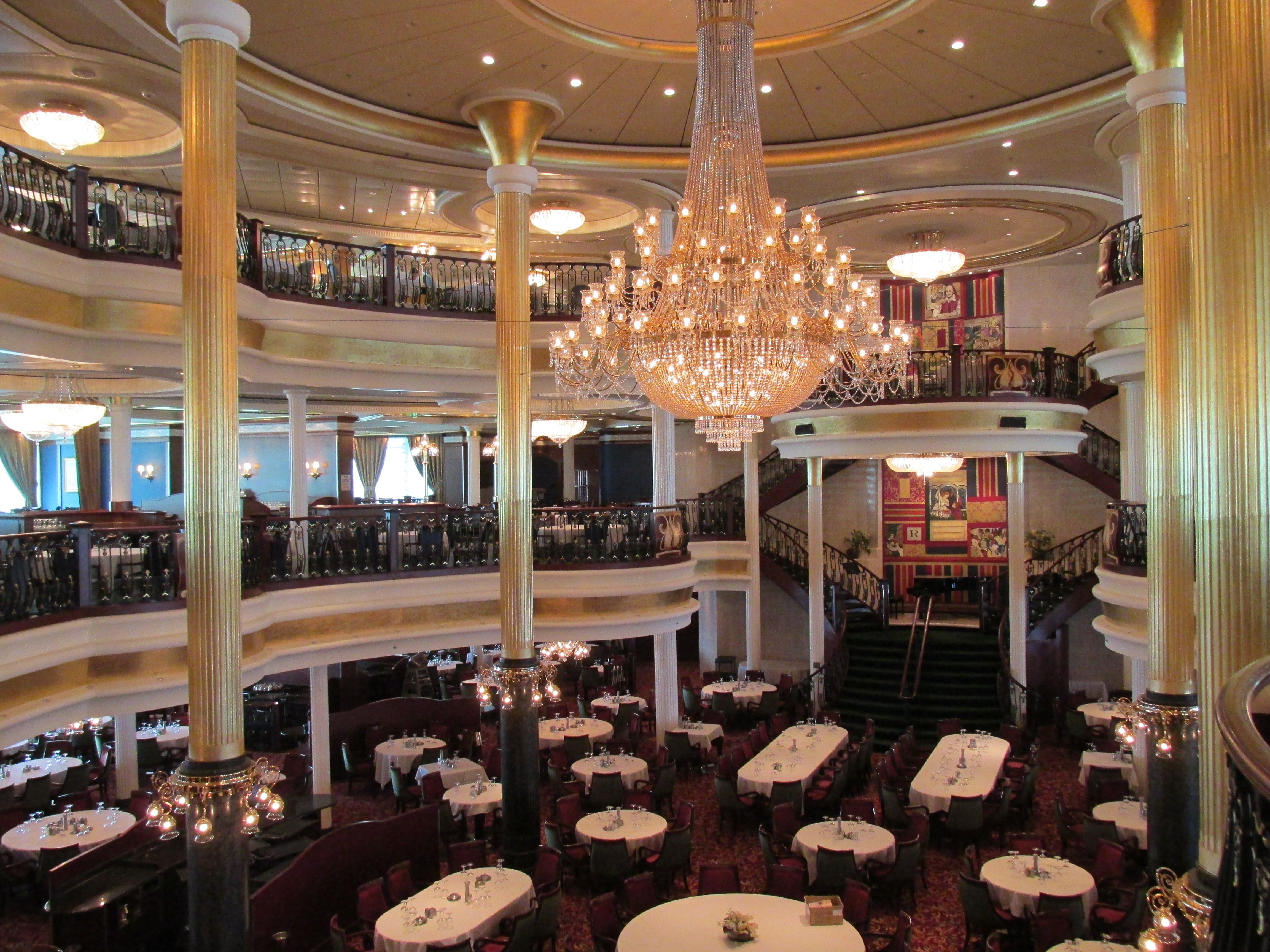Independence Of The Seasthe Dining Room Rcl Independence Of Brilliant Explorer Of The Seas Dining Room Design Ideas