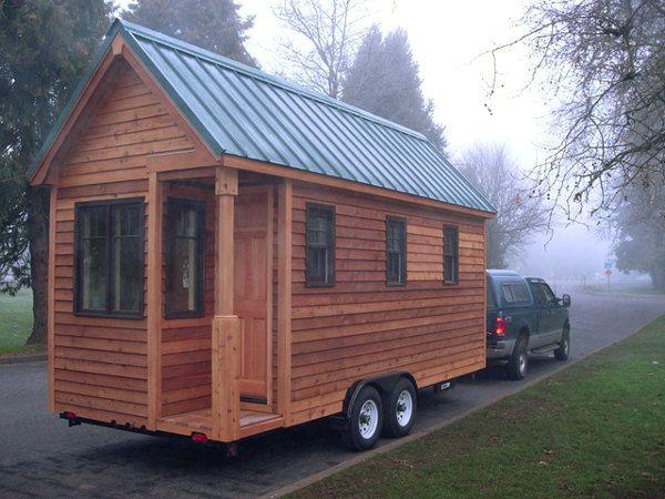 Vivir en una casa de madera con ruedas ecoideas - Casas de madera para vivir ...