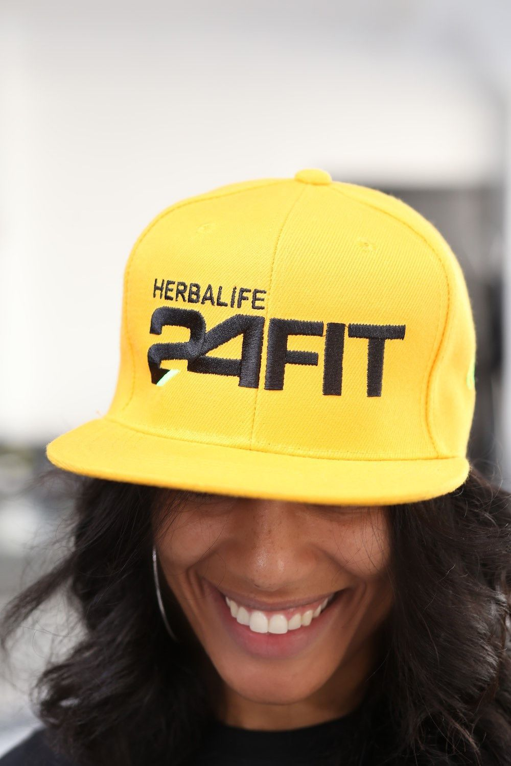 Herbalife 24 FIT snapback goldneon Snapback Neon and Gold 16cb176267fb