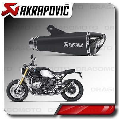 Exhaust Akrapovic Bmw R Nine T 2014 14 2015 15 Black Titanium