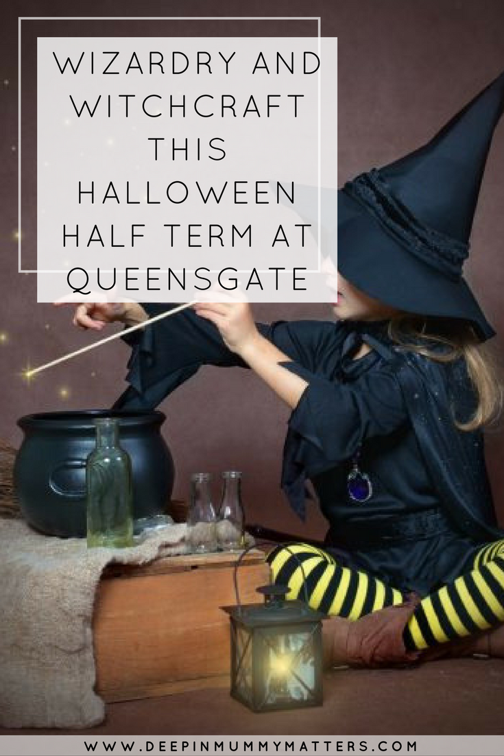 WIZARDRY AND WITCHCRAFT THIS HALLOWEEN HALF TERM AT