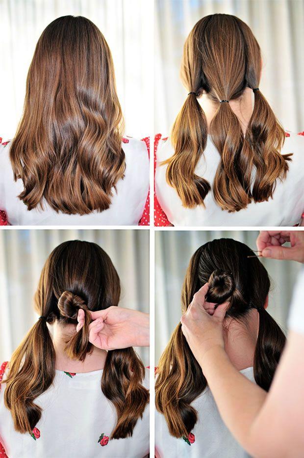 peinado fcil y con estilo - Peinado Facil