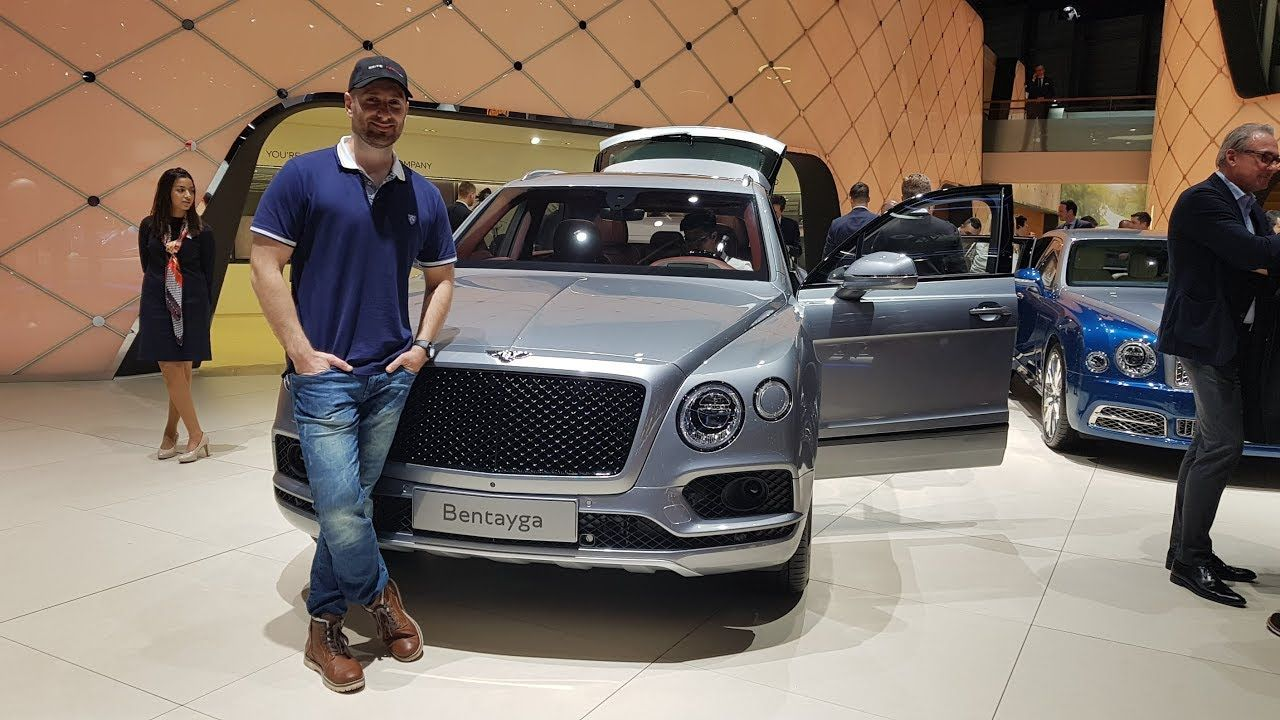 New 2019 Bentley V8S Model