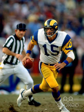 Vince Ferragamo Photo Galleries Eric Dickerson Rams Football Football Cheerleaders