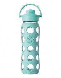 Lifefactory 22 Oz Glass Bottle W Flip Cap Best Glass Water Bottle Glass Water Bottle Best Water Bottle