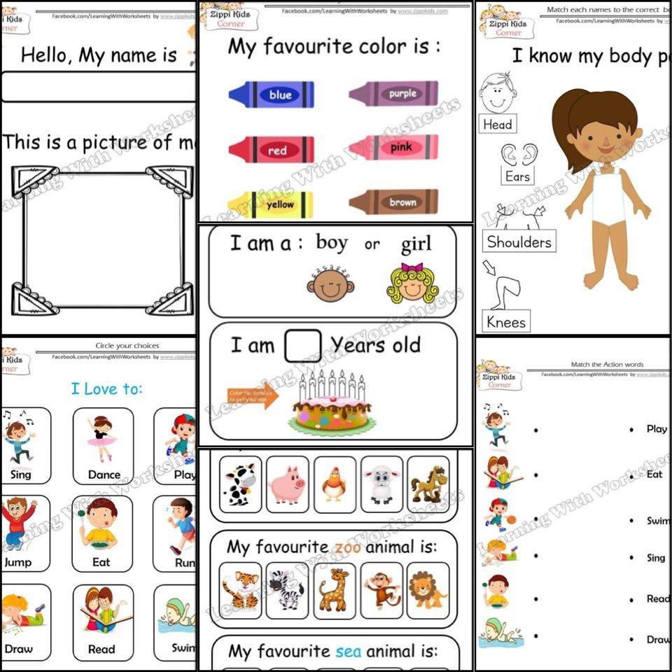 Shop Printable And Digital Worksheets Google Slides Zippi Kids Corner All About Me Worksheet Teacher Resources Kids Corner [ 960 x 960 Pixel ]