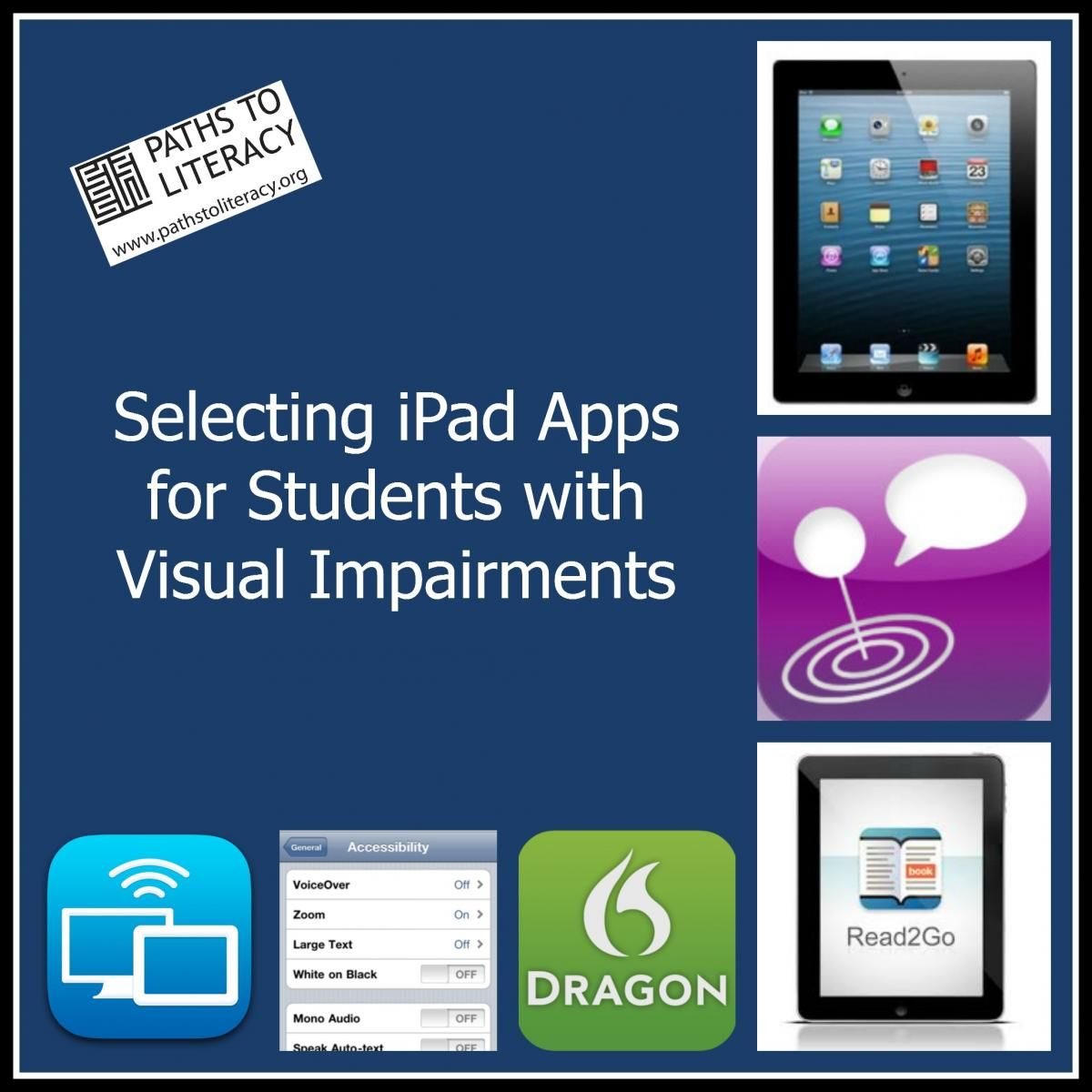 How to Select iPad Apps for Students with Visual