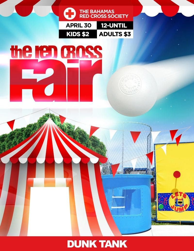 Fun, Entertainment, Food and much more...It's all happening this Saturday at the Red Cross Fair!