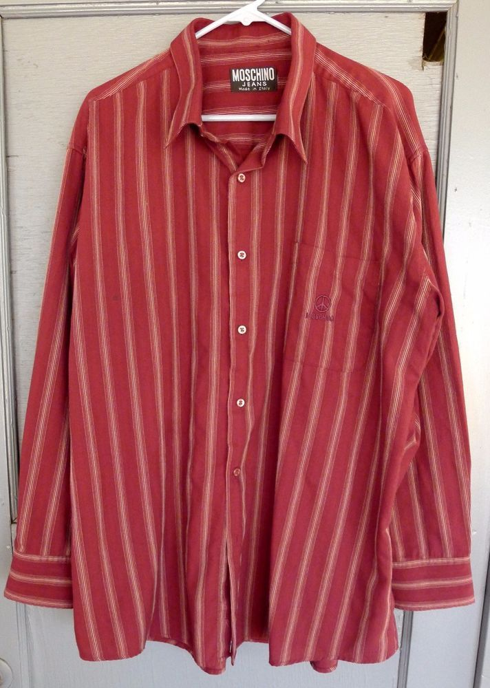 Vintage Moschino 90s Blouse L