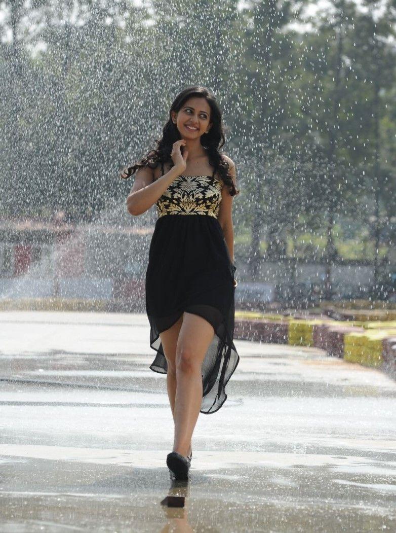 Black dress very - Rakul Preet Singh Very Hot Photos In Black Dress