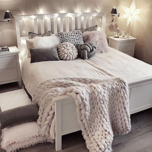 Guten Morgen aus dem bezaubernden Schlafzimmer von @gozdeee81 ❤️ist das gemütlich ???????????? #Wohnkonfetti habt einen schönen Samstag ❤️ #apartmentsinnice