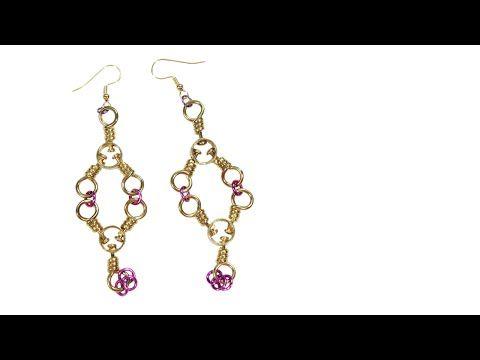 Tackle Box Earrings #2 Tutorial - YouTube
