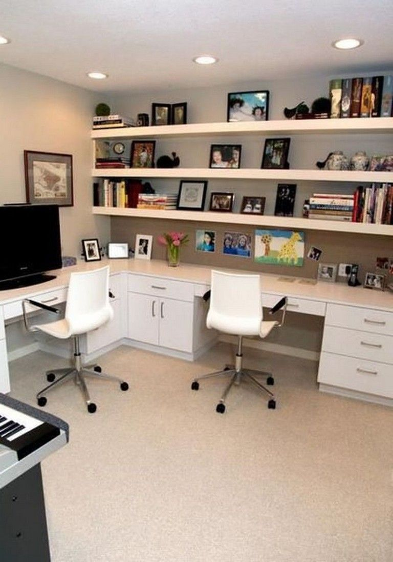30 Exciting Diy Home Office Desk Ideas Contemporary Home Office