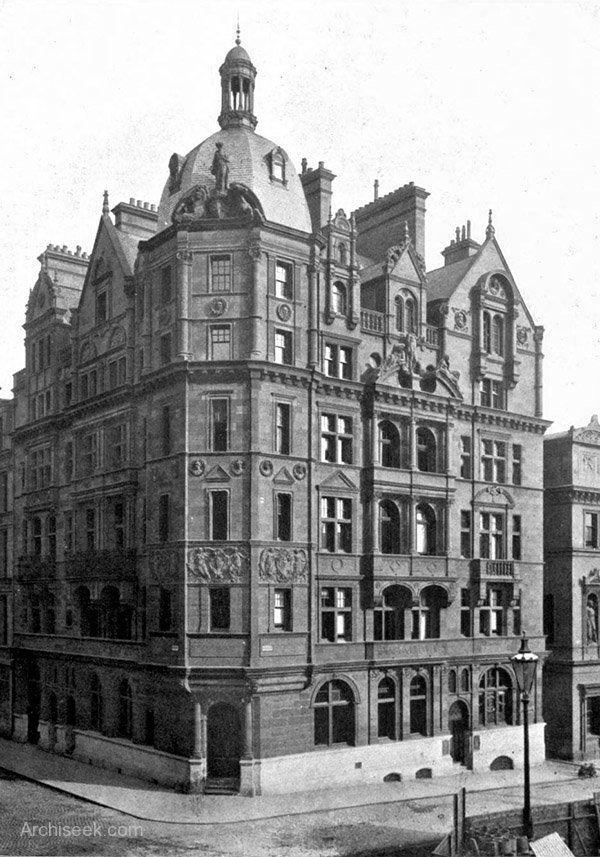 1889 Sun Insurance Co Glasgow Architecture Of Glasgow