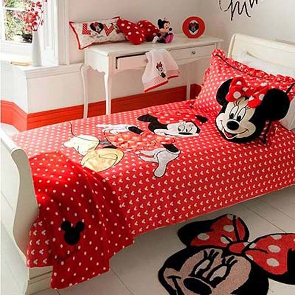 Minnie Mouse Bedroom Decor for the Little Girls   Bedroom Decor ...