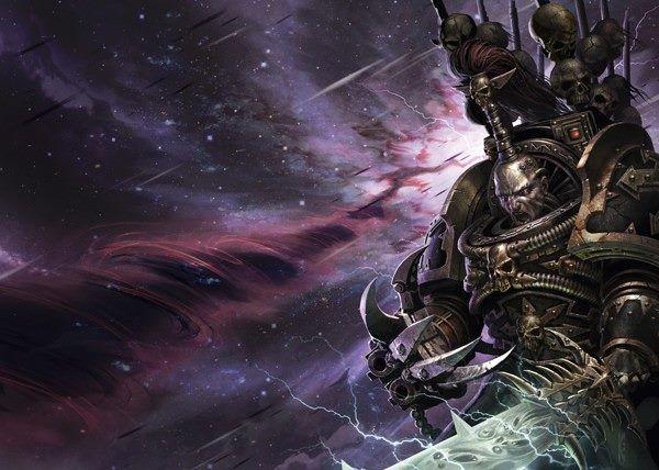 Abaddon the Despoiler   Warhammer 40k Art   Warhammer art, Warhammer