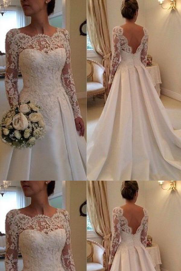 a11378689 Customized Feminine Custom Wedding Dress, Wedding Dress Backless, Long Wedding  Dress Backless Wedding Dress, Custom Made Wedding Dress, Wedding Dress, ...