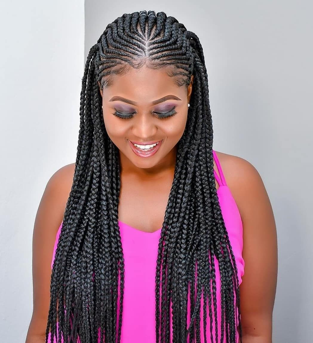 Amazing Natural Hair Twisting Styles The Most Recent Beautiful And Nice Styles For Natural Hair O In 2020 Braided Cornrow Hairstyles Hair Styles Braided Hairstyles