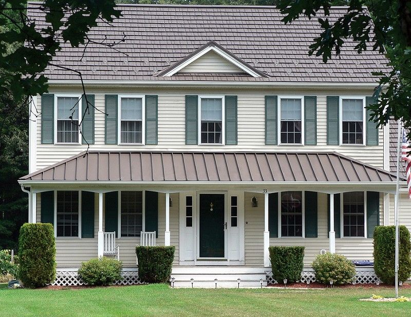 Metal Roofing Photo Gallery Metal Roofing Alliance Photos Of Metal Roof Types And Styles The Look I M Going For Pinterest Roof Types Metal Roof A