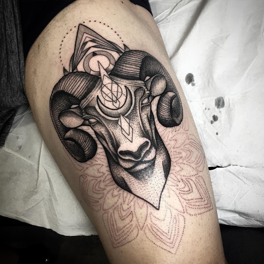 Idea by Prateek on ink Ram tattoo, Aries tattoo, Aries