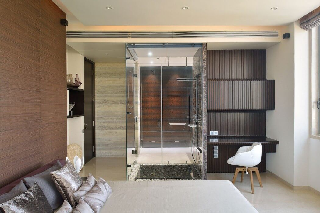 Contemporary Home in Mumbai by Space Dynamix Interior Pinterest