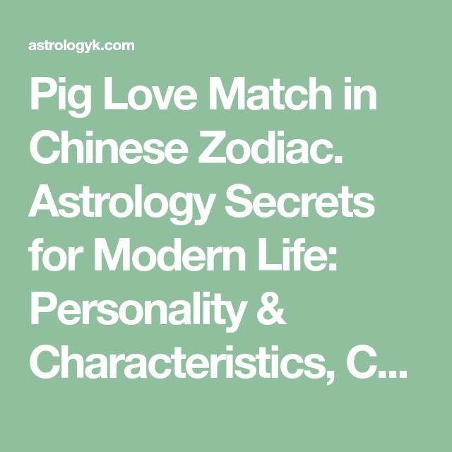Chinese love match secrets