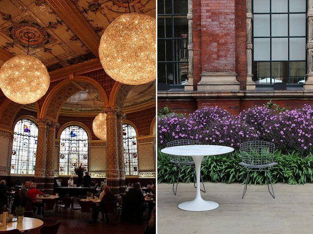 LONDON V Café at Victoria and Albert Museum (South Kensington) | by Kaffee mit Freunden, via Flickr