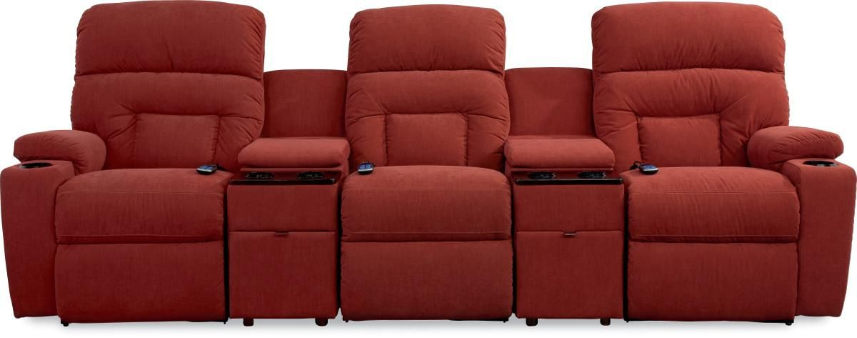 Spectator 5 Pc Reclining Home Theater Group By La Z Boy