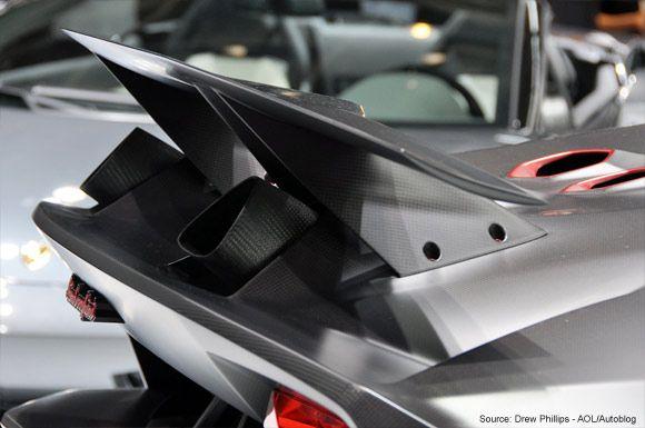 Lamborghini Unveils Sesto Elemento Carbon Fiber Showcase Concept #lamborghinisestoelemento