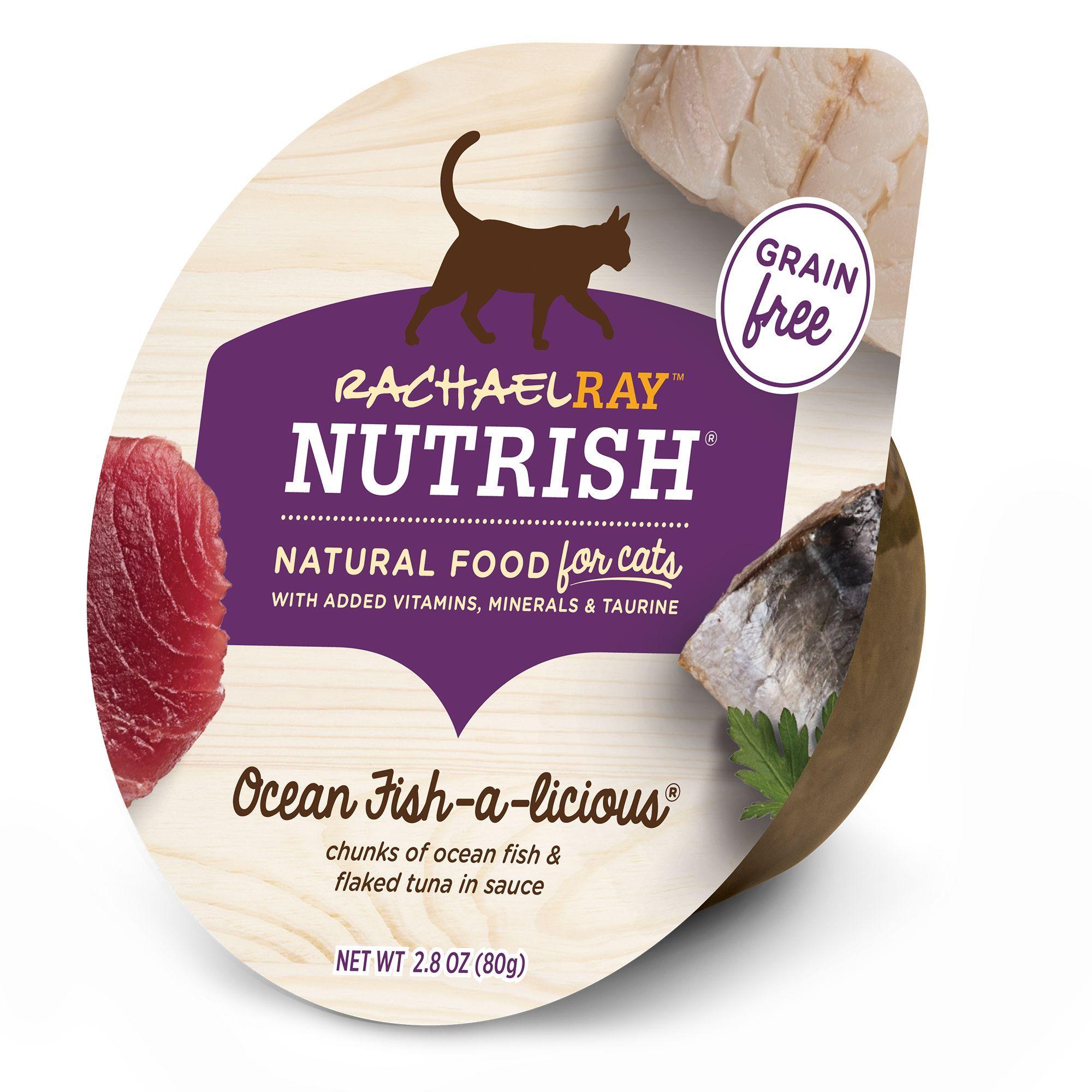 Rachael Ray Nutrish Cat Food Natural Grain Free Ocean Fish A