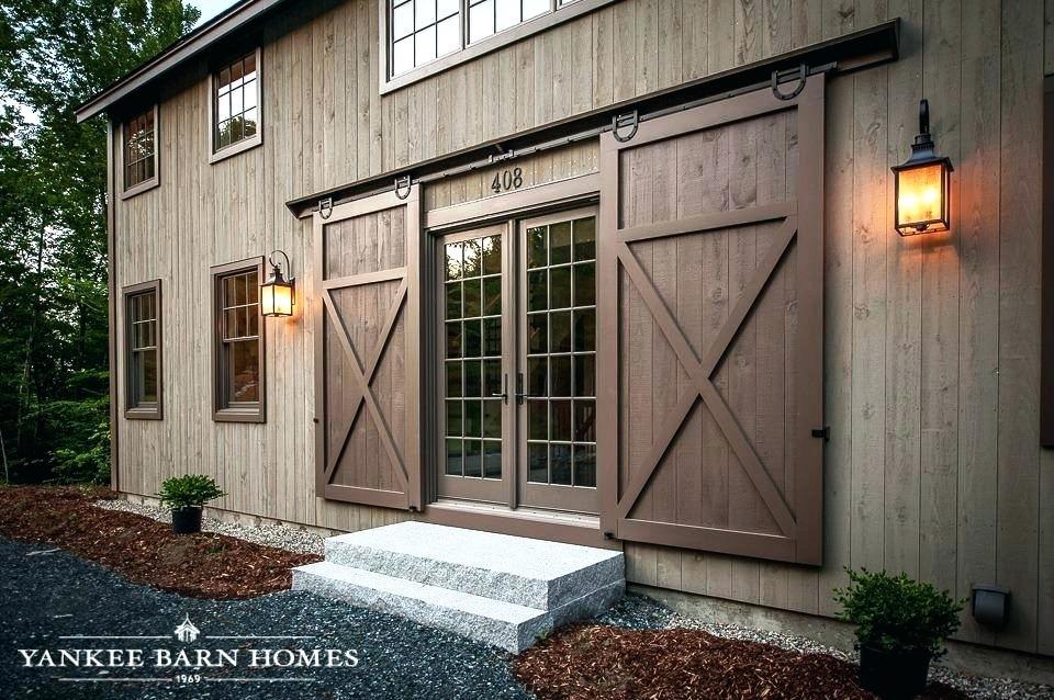 Exterior Barn Door Designs Traditional Exterior Sliding Barn