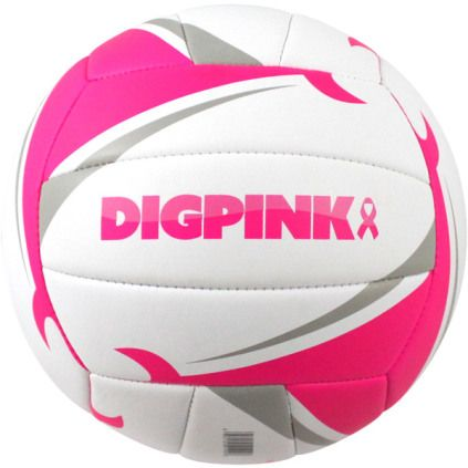 Matchpoint Volleyball Precision Stitched Cushioned Synthetic Leather Cover Recessed Stealth Soft Valve System For A Nearly Dig Pink Volleyball Dig Volleyball