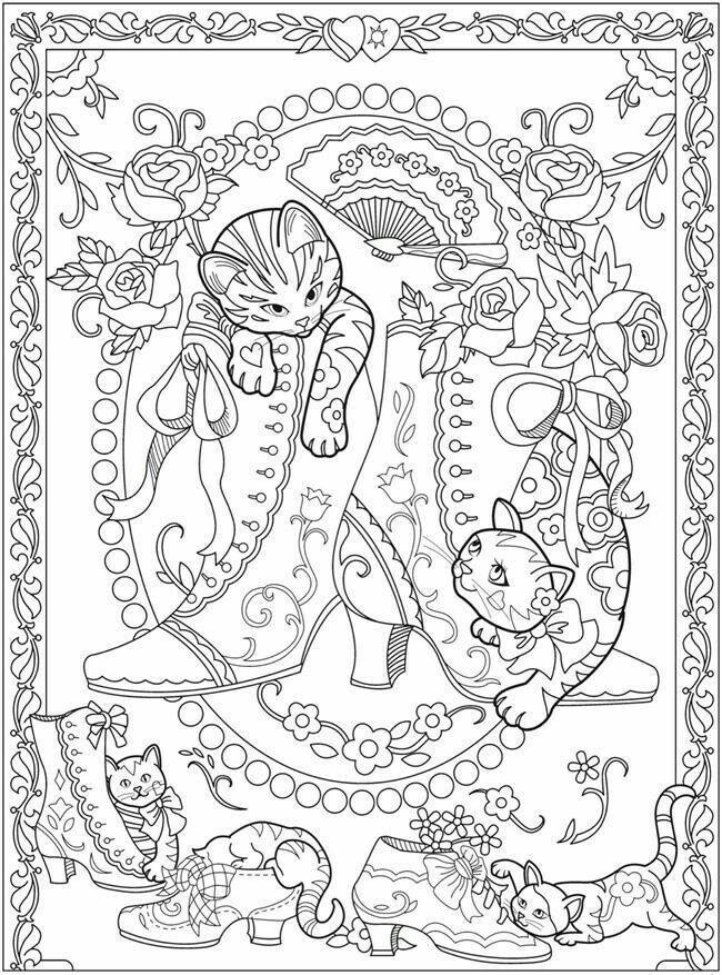 Cute coloring page   coloriage adulte   Pinterest   Colorear ...
