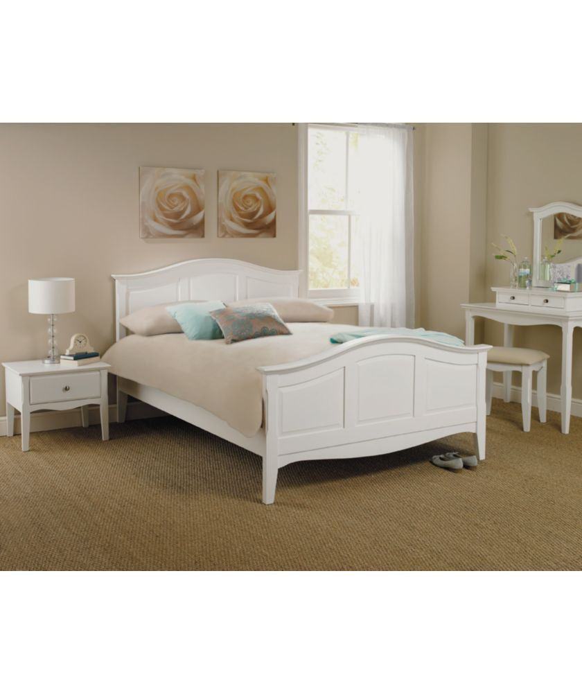 Buy Schreiber Provence Double Bed Frame White At Argos