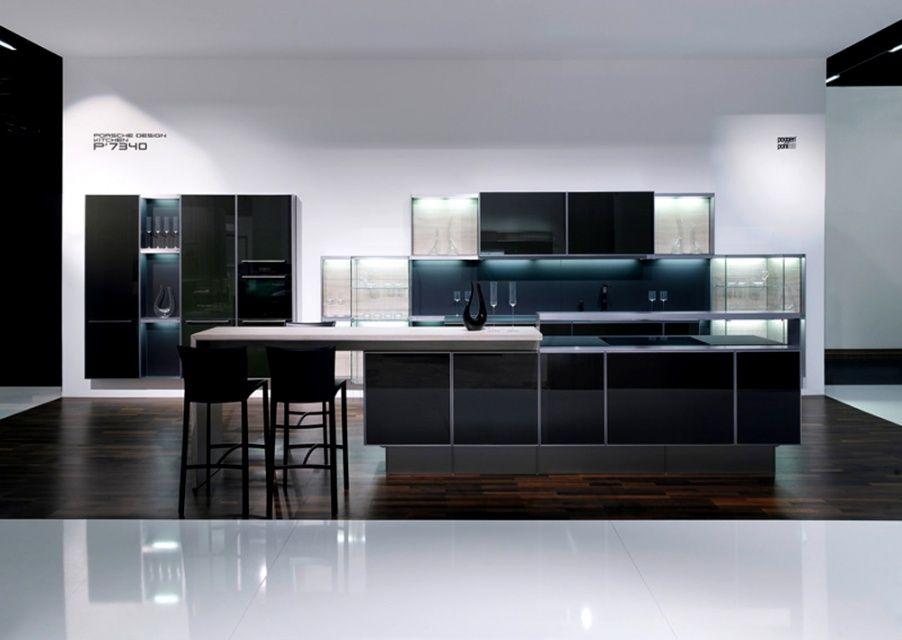 Porsche Design kitchen Home Pinterest - laminat wohnzimmer modern