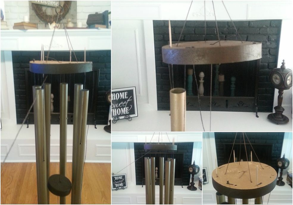 How to repair refresh and restring an old wind chime