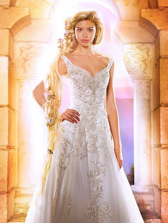 10 Disney Inspired Wedding Gowns From Alfred Angelo Princess