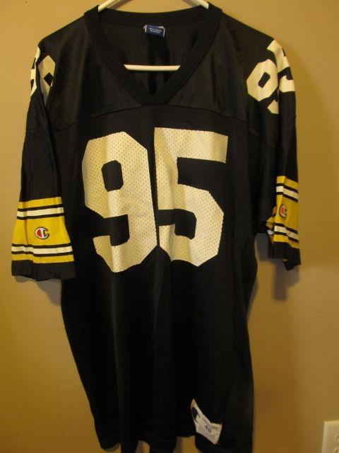 official photos 46723 b7eeb Vintage Greg Lloyd Pittsburgh Steelers jersey , Champion 48 ...