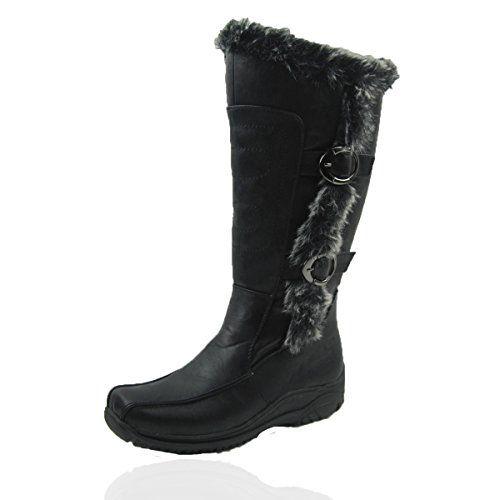 Women Winter Boots Comfy Moda Tina Size