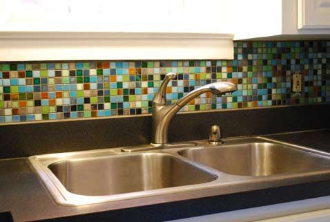 17 Best Images About Kitchen Ideas On Front Load. Best Brilliant Multi Color  Glass Tile Backsplash 3173 - Multi Color Backsplash Tile Coloring Page, Books And Etc