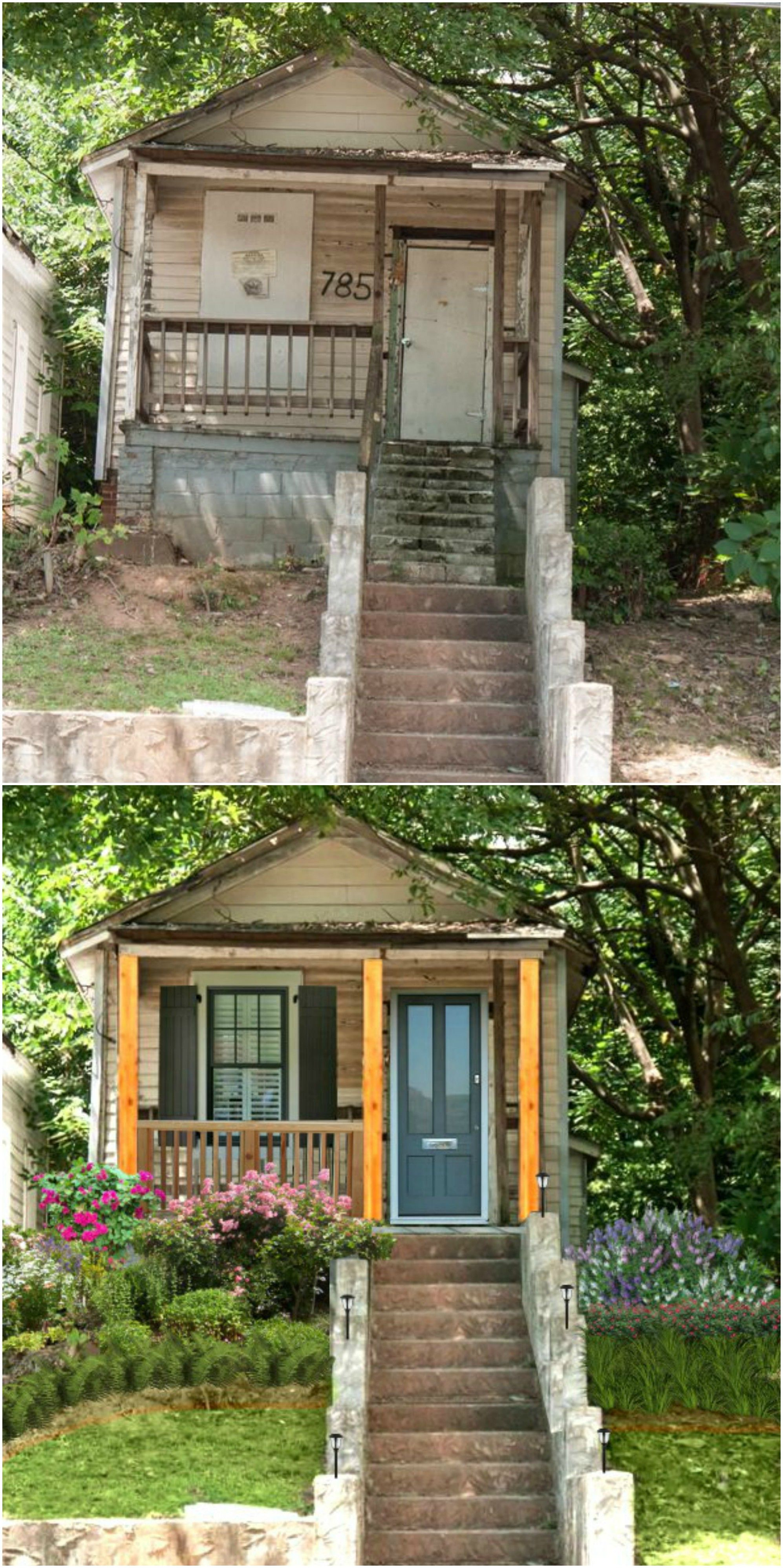 Atlanta Renovations Before After Photos With Images: Home Exterior Makeover, House Yard Design, Atlanta Homes