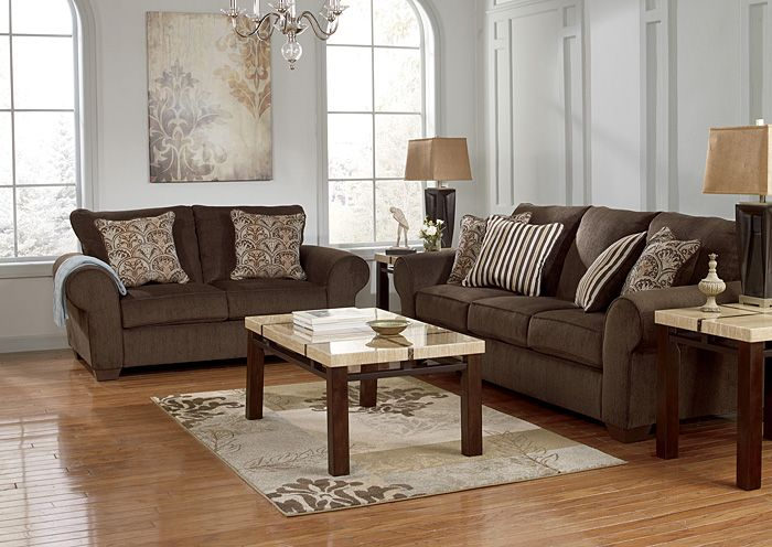 4 Less Furniture Rugs Oaks Pa Dynn Java Sofa Loveseat