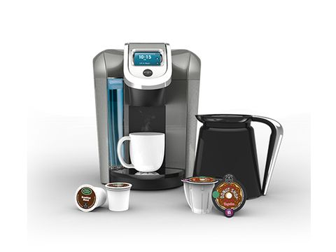 """Extra"" is giving a Keurig 2.0 Brewing System to 5 lucky friends. codeword BREW"