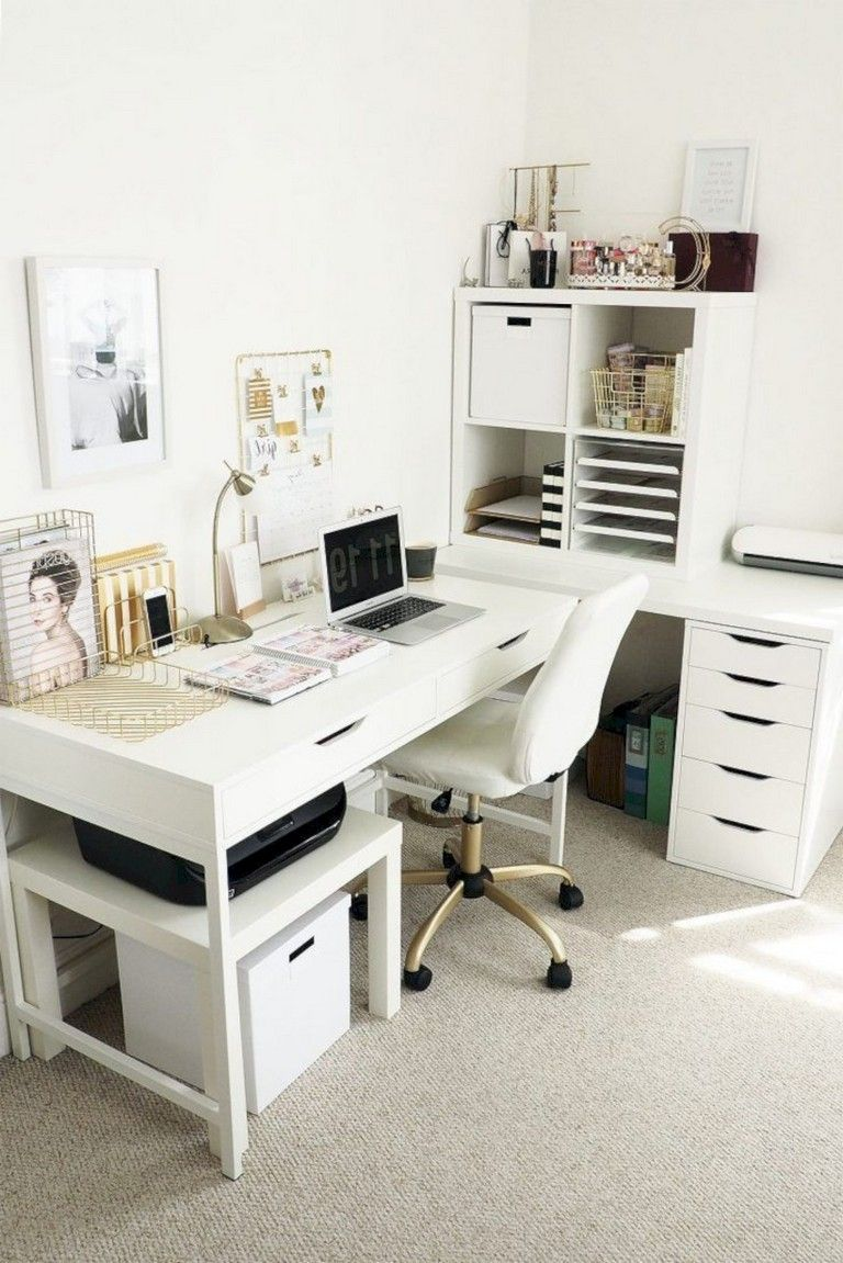 28 Top Ideas How To Add Spring Touches To Your Home Office
