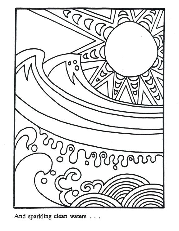 32 coloring pages from NIEHS (National Institute of