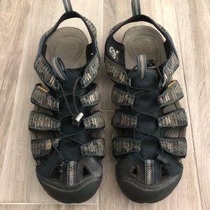 KEEN Size 13 Waterproof Sole Sport Sandals