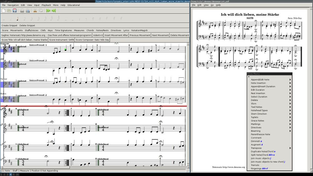 MuseScore (Professional Music Notation and Composition Software