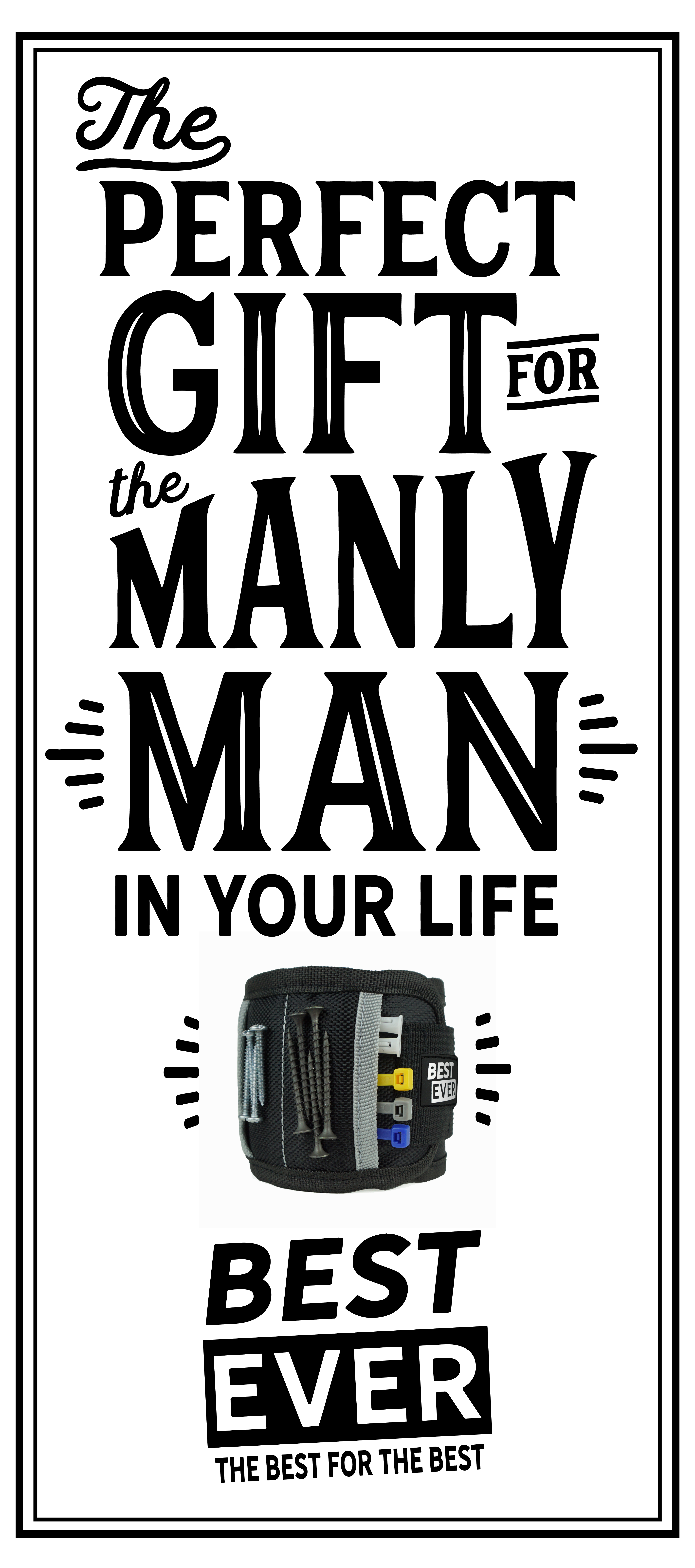 The perfect gift for the Manly Man in your life. gift,