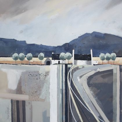"""""""Making Tracks"""" by Dionne Sievewright http://www.fotheringhamgallery.co.uk/artist.php?astid=126"""